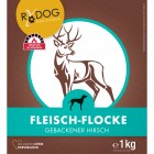 Meat-flakes venison (Fleisch-Flocke Hirsch) 1kg (1 Piece)